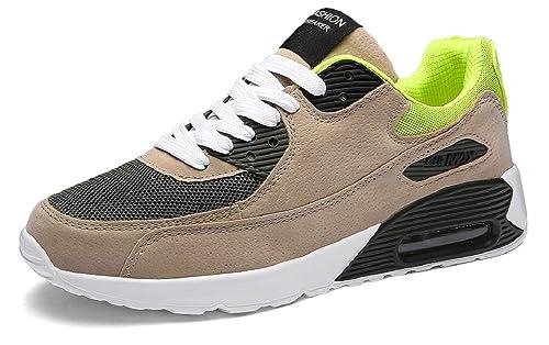 24f36a63 JiYe Zapatillas de Deporte al Aire última intervensión para Mujer y Hombre  Caminando Correr Amantes Zapatos