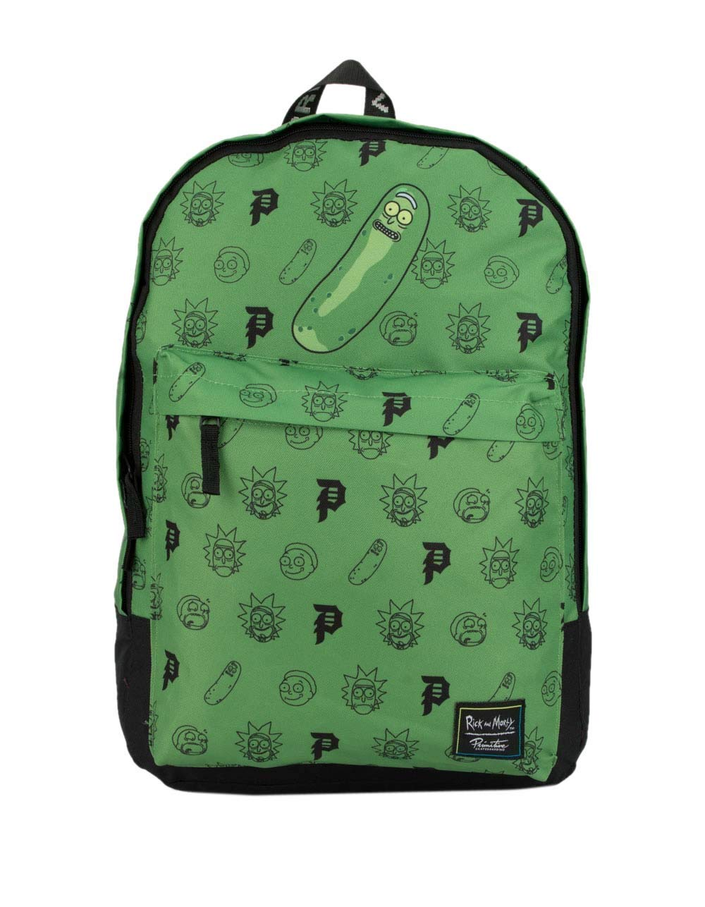 PRIMITIVE x Rick & Morty Pickle Rick Backpack, Green Combo by Primitive