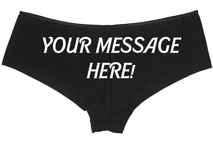 personalized slut wear