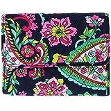 Vera Bradley Euro Wallet Clutch Purse Handbag in Petal Paisley