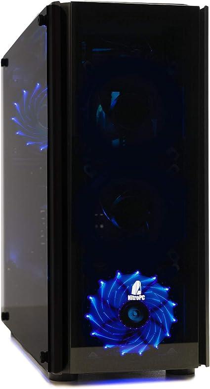 NITROPC - PC Gamer VX *REBAJAS* (CPU Ryzen 3, 4N x 3,40Ghz, T. Gráfica