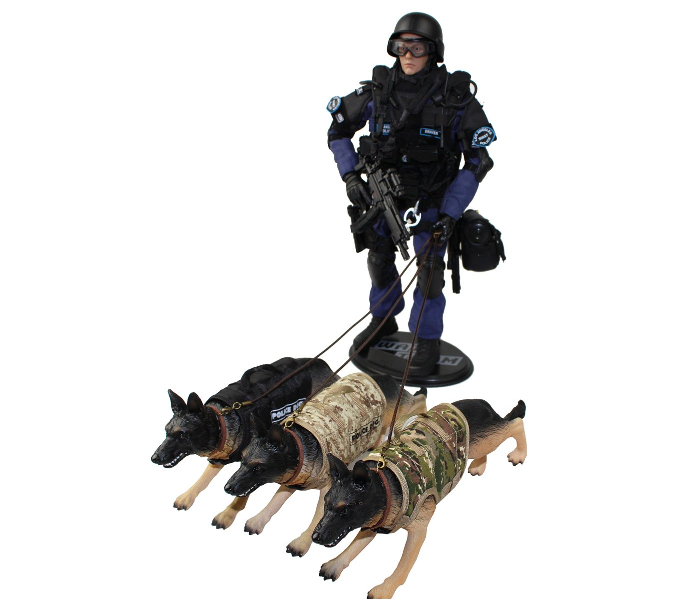 Phicen 1//6 Scale Action Figure Dogs Toy Figure Uniform Toys Dolls Scene Layout Phicen Limited