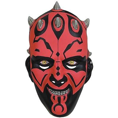 Darth Maul Mask Costume Accessory: Toys & Games