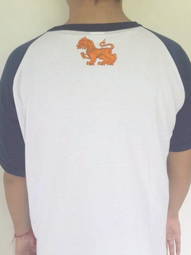 Camisetas manga corta Singha Beer Thai de hombre de fútbol de cerveza M), color blanco: Amazon.es: Deportes y aire libre
