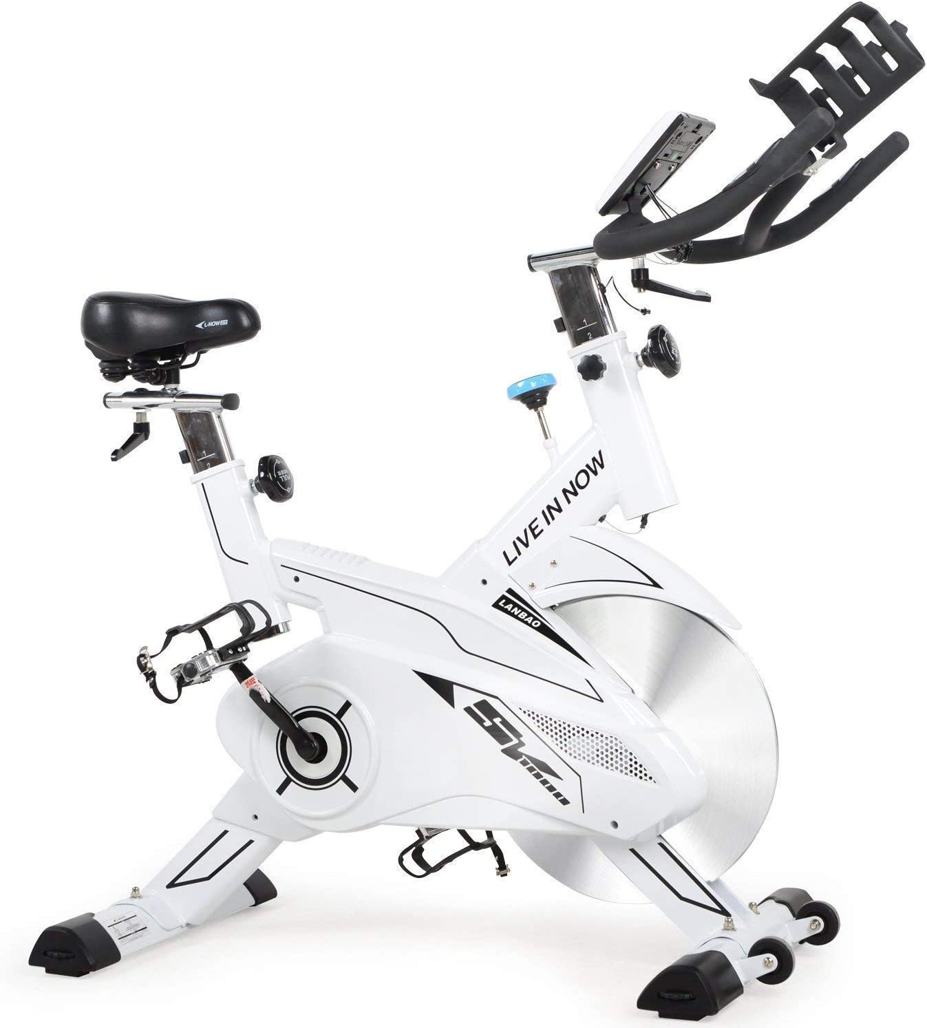 pooboo Bicicleta de Ciclismo para Interiores – Sistema Profesional ...