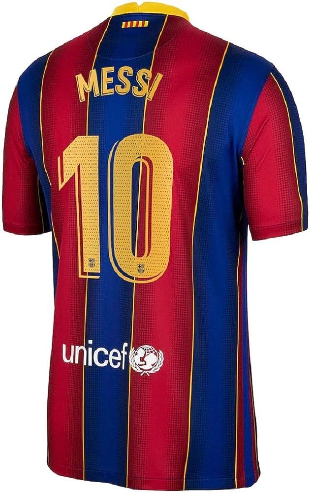 Soccer Kingdom Unlimited Messi #10 Barcelona Home Men's Jersey 20-21