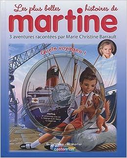 Martine Livres Cd Quels Voyages Livre Cd Amazon Co