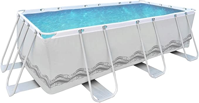 Jilong – Piscina Rectangular con Estructura: Amazon.es: Jardín