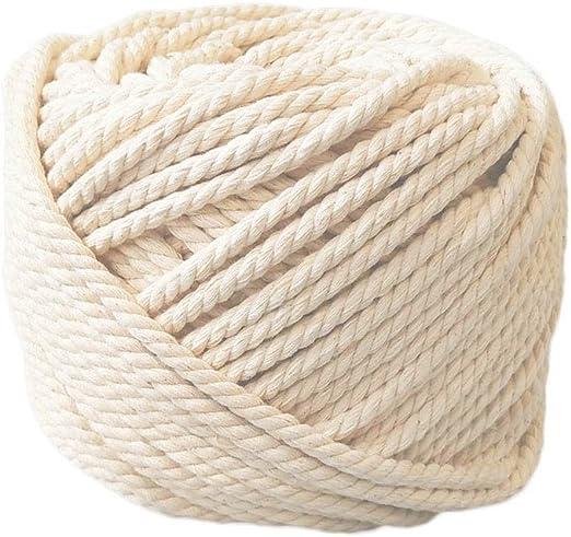 HuBei Decoración hecha a mano de algodón natural Bohemia macramé ...