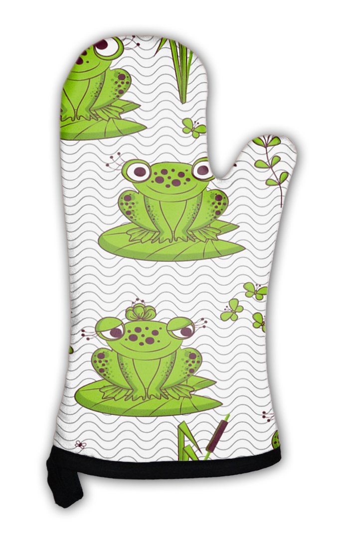 Gear New Oven Mitt, Pattern Frogs, GN1461 by Gear New (Image #1)