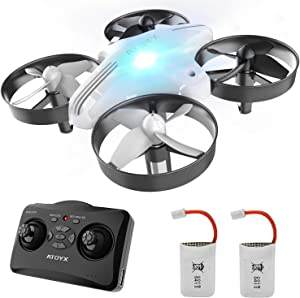 Drone for Kids and Beginners,RC Mini Quadcopter Toy,Remote Control Quadcopter Flying Toys for Boys Or Girls, Indoor/Outdoor Helicopter Easy to Fly Drone(AT-66)