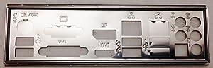 Supermicro MCP-260-00063-0N I/O Shield for X10SLQ X10SAE C7Z87