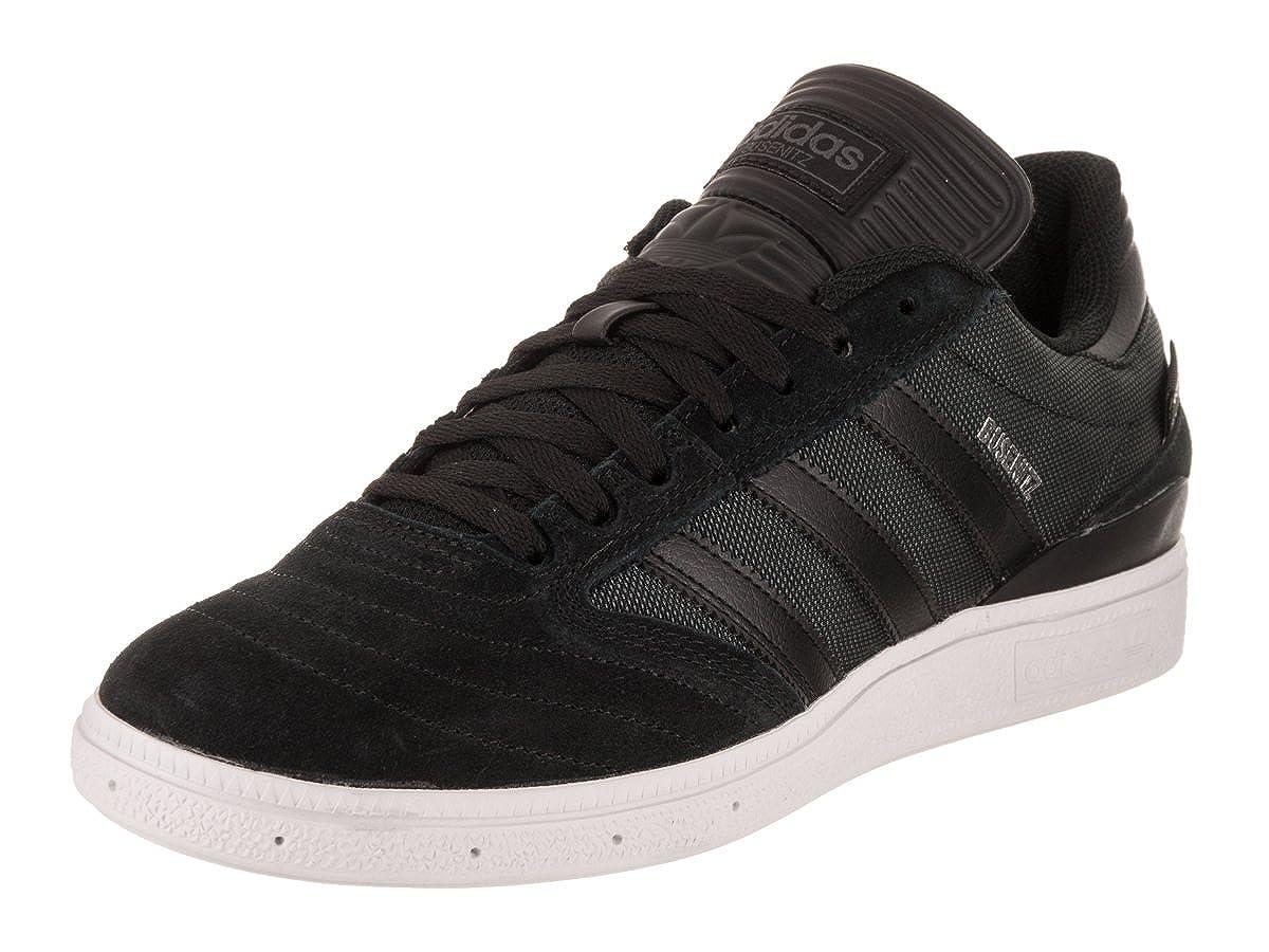 Adidas Originals Herren Busenitz Turnschuh Scarlet Weiß Silber B0734D1YTR Hervorragender Stil