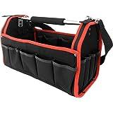 Werkzeugtasche - XL - | Modellauswahl | inkl. Schultergurt | stabile Aluminium-Tragestange - Montagetasche Werkzeugbox Werkzeugkasten