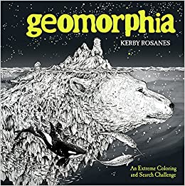 Geomorphia An Extreme Coloring And Search Challenge Amazonca Kerby Rosanes Books