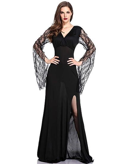 Amazon Dolovey Halloween Classic Witch Costume Women Black