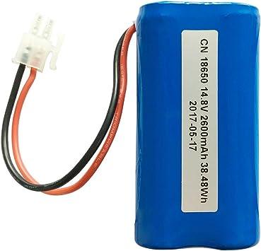 minibot baterías de repuesto para minibot X5 Robot aspirador ...
