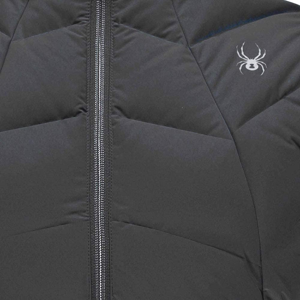 Large Black Spyder Womens Geared Synthetic Down Vest