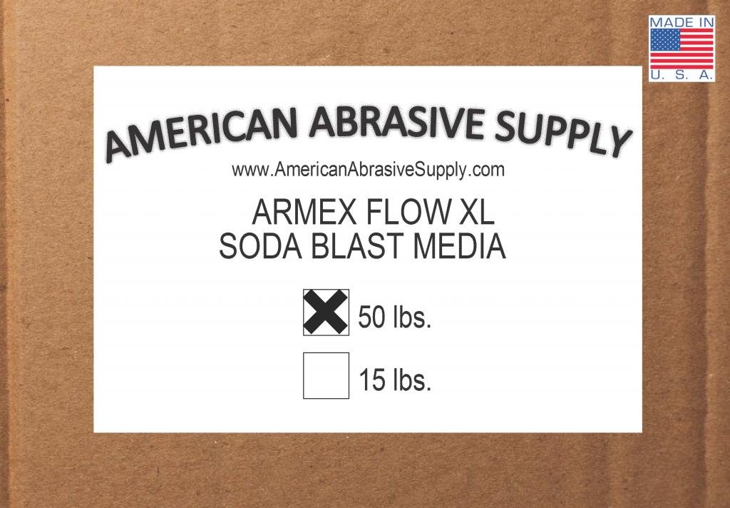 Armex Flow XL Soda Blast Media (50 lbs.)