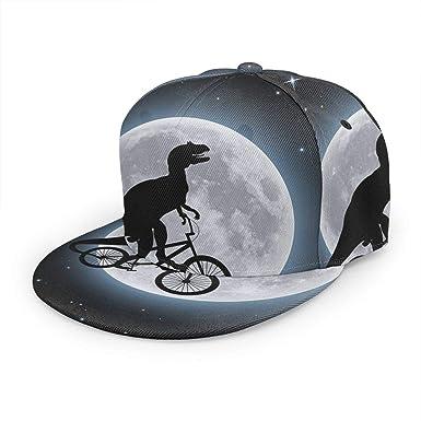 Gorra de béisbol con diseño de Dinosaurio Ridng para Ciclismo ...