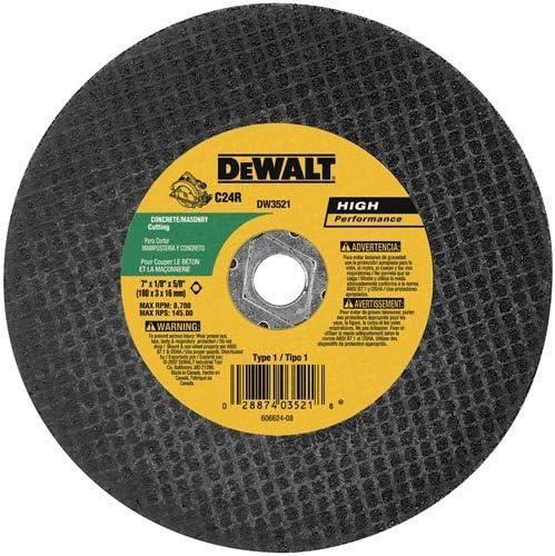 abrasive circular saw blade