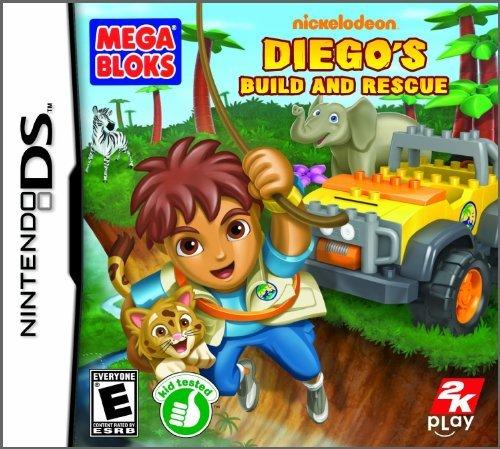 Mega Bloks Diego's Build and Rescue - Nintendo DS (Adventure Diego Go Rescue Go)