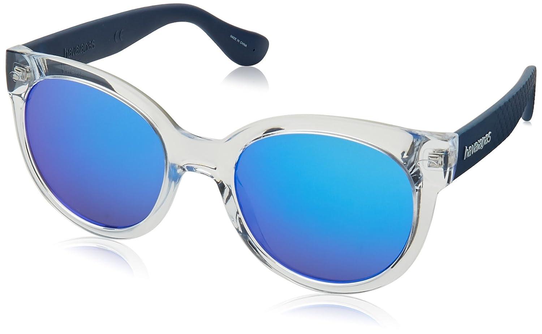 Havaianas NGOLDNHA/M Z0 QM4 52, Gafas de Sol para Mujer, Azul (Crystal Blue): Amazon.es: Ropa y accesorios
