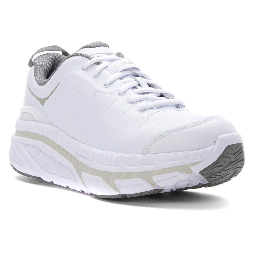 HOKA ONE ONE Womens Valor LTR Sneaker B011PM5X7G 10 B(M) US White