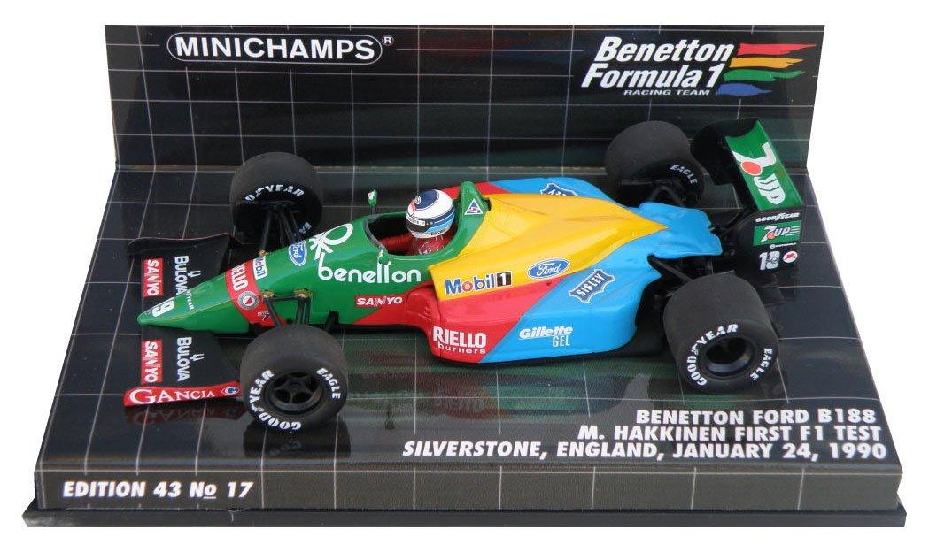 Minichamps – 400890219 – Fahrzeug Miniatur – Benetton B 188 – First F1 Test Silberstone 1990 – Maßstab 1 43 B00533XKSS Fahrzeuge Nicht so teuer | Vorzüglich