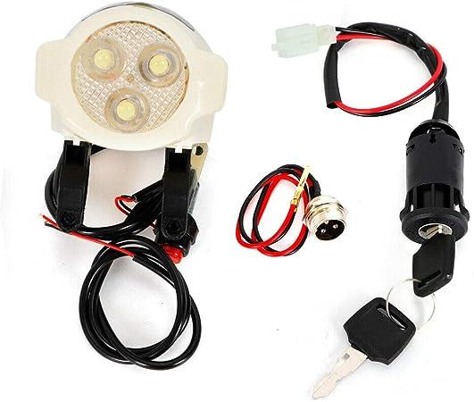 Controlador de Motor para Bicicleta de 22-28 Pulgadas 350 W 24 V Kit de conversi/ón para Bicicleta el/éctrica WUPYI2018