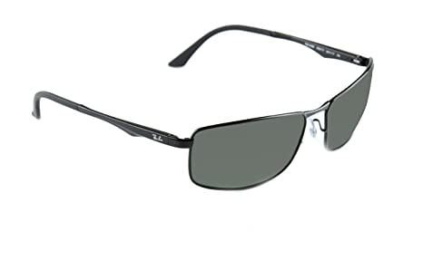 8e31fdfd91b43 Image Unavailable. Image not available for. Colour  NEW AUTHENTIC METAL RAY  BAN RB3498-002-9A POLARIZED ...