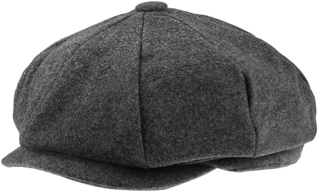 FakeFace Trendige Unisex Schieberm/ütze Flatcap Flache Kappe Modehut Farbauswahl