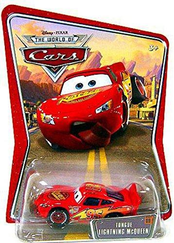 amazon com tongue lightning mcqueen 09 disney pixar cars 1 55