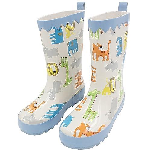 c535e37cf679f XFentech Zapatos de Agua Antideslizantes Casuales para Unisex para Niños  Botas de Lluvia de Caucho para