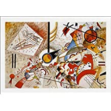 Posters: Wassily Kandinsky Poster Art Print - Sans Titre, 1923 (39 x 28 inches)
