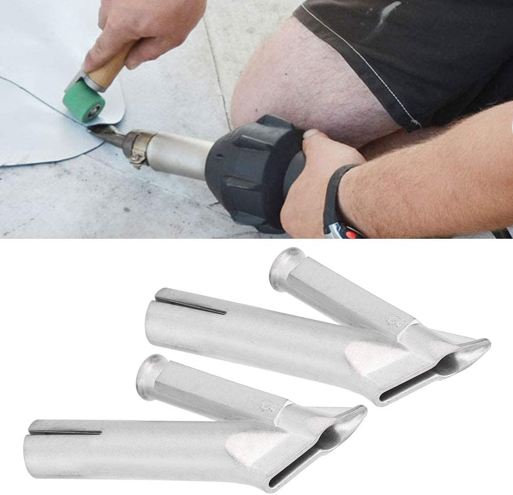 haute r/ésistance pour travailleur de soudure de feuille de plastique PVC PP buse de soudage /à air chaud de r/ésistance /à la corrosion 2 pi/èces Buse ciculaire de pistolet de soudage