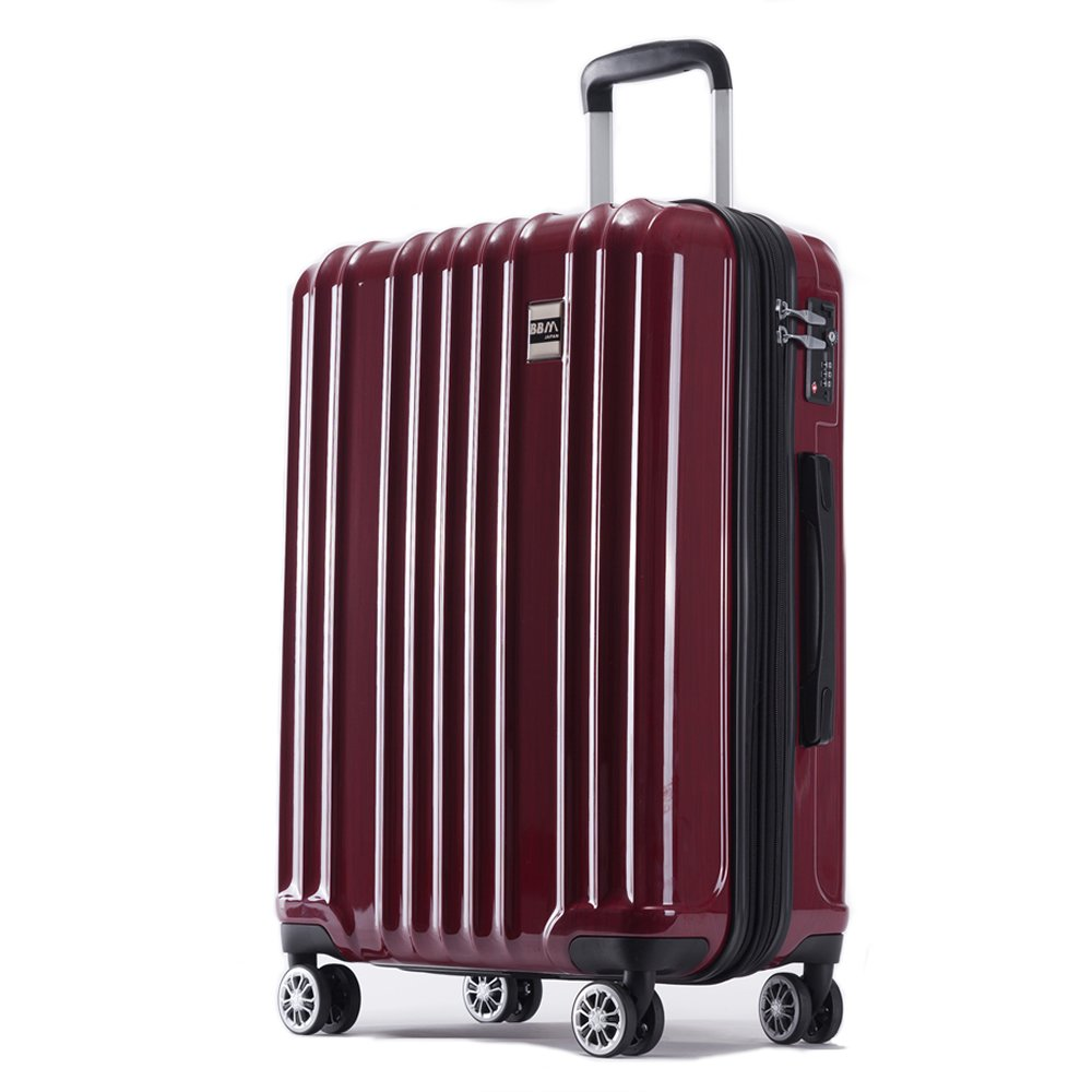 AKTIVA スーツケース 軽量 ファスナー TSAロック搭載ハードケース B075T5Z8XM 大型、Lサイズ|ブラッシュレッド ブラッシュレッド 大型、Lサイズ