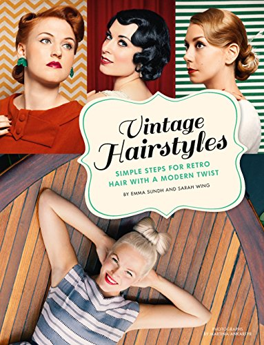 Authentic 1940s Makeup History and Tutorial Vintage Hairstyles: Simple Steps for Retro Hair with a Modern Twist $1.99 AT vintagedancer.com