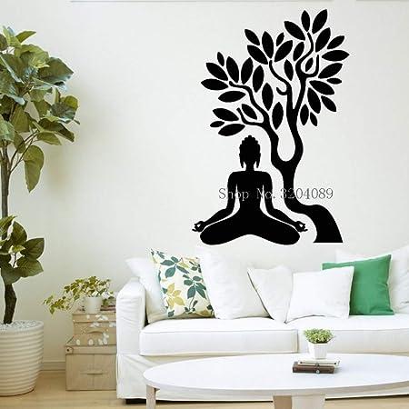 supmsds Árbol de Buda Tatuajes de Pared Decoración del hogar Sala ...