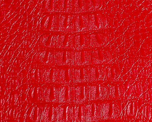 Alligator Prints Fabric Vinyl Faux Leather Animal Skin Upholstery 54