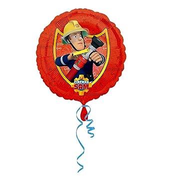 Sam, el bombero En la Acción | Globos Aluminio 45 cm Niños ...
