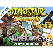 Clip: Dinosaur Island Minecraft Playthrough with Brick Show Brian