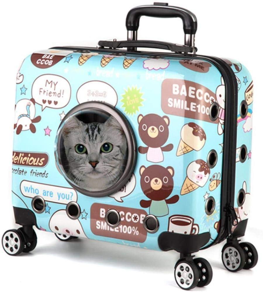 Bolsa Transporte Perros Rueda De Transporte Aprobada Por Aire, Maleta Con Ruedas, Cápsula, Astronauta, Equipaje De Viaje, Maleta, Bolsa, Gato, Carrito, Perro, Transportador De Mascotas Para Perros