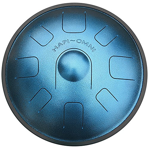 HAPI HDOMNIGMJ Omni Steel Tongue Percussion Drum – G Major with travel backpack