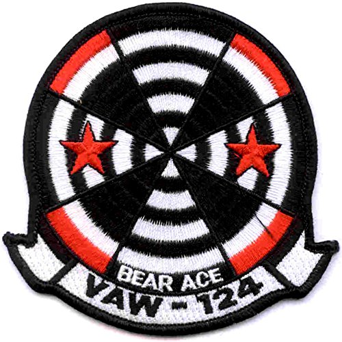 VAW-124 Naval Airborne Early Warning Squadron Patch - Vaw 124 Bear