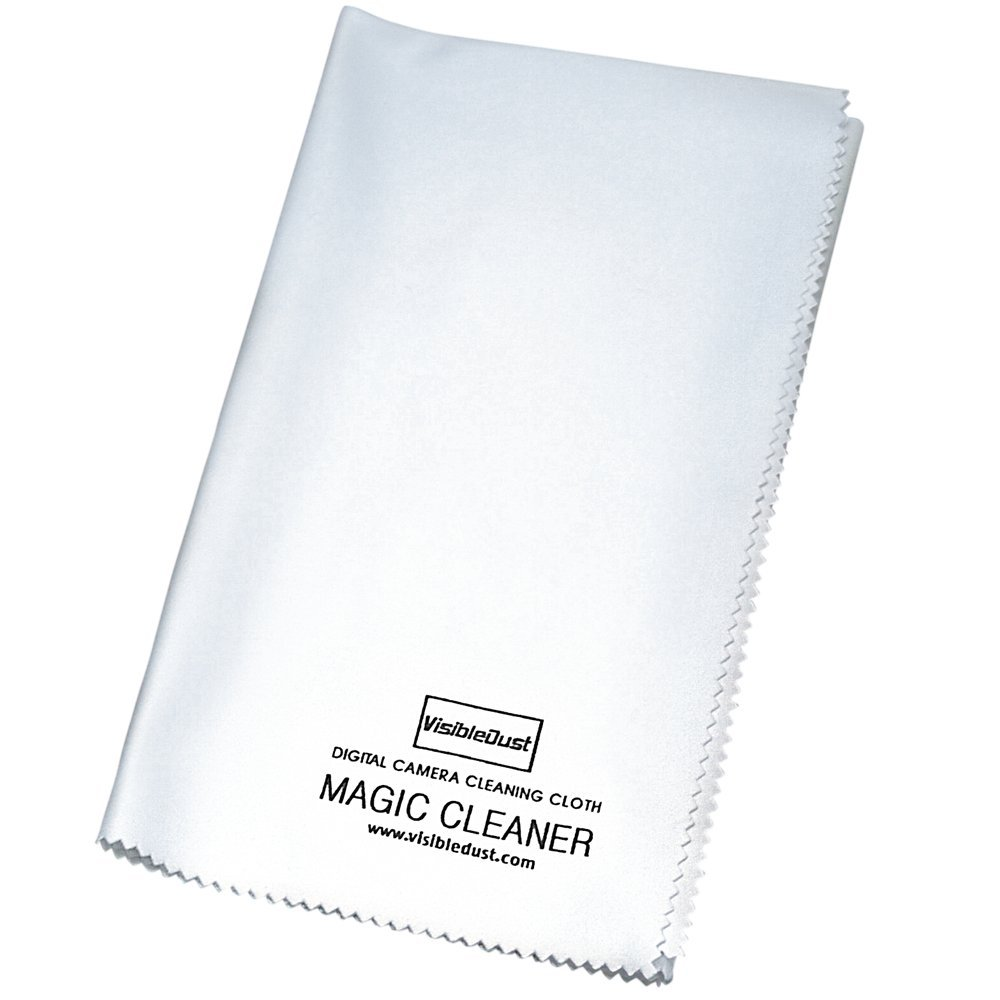 """VisibleDust Magic Cleaner Ultra-Thin Microfiber Cleaning Cloth for Optics and Camera Lens - 320 mm x 380 mm 