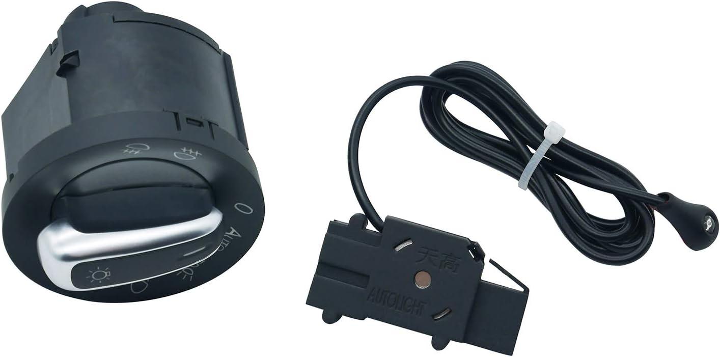 ZEALfix Steuersensormodul f/ür Autoscheinwerferschalter 5ND941431B 5ND941431BXSH