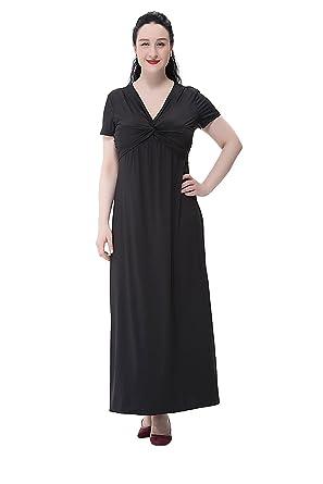 Preferhouse Summer Long Maxi Dresses For Plus Size Women Short