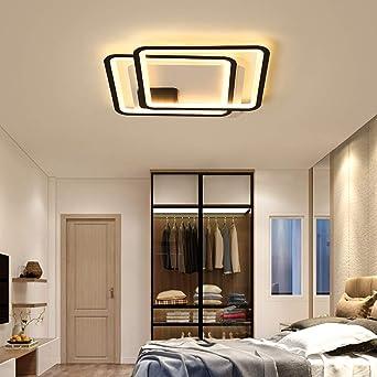 Leo Home minimalismo Square plafon LED de techo moderna LED luces LED para salón dormitorio lámpara