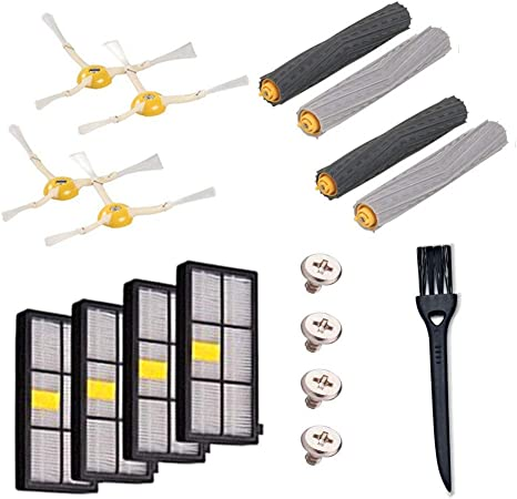 Accesorios para robot aspirador Janly, repuesto iRobot Roomba 980 piezas Roomba Replenishment Kit accesorios: Amazon.es: Hogar